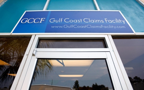 The new Gulf Coast Claims Facility is shown on August 23, 2010 in New Orleans, Louisiana.