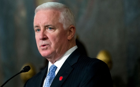 Gov. Tom Corbett has been a supporter of the Sunoco pipeline project, though recently he has toned down his support.