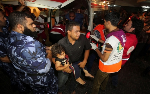 Thumbnail image for Gaza paramedic haunted by daily carnage, anxiety for his family