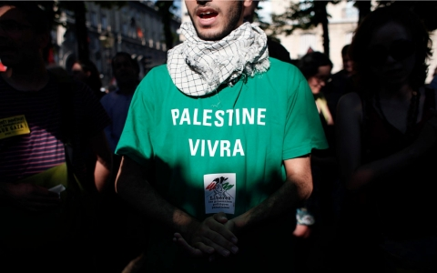 Thumbnail image for For French Arabs, Palestinian protest ban echoes the past