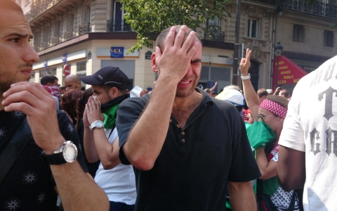 Thumbnail image for French Arabs defy pro-Palestine protest ban in Paris