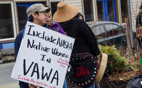 Thumbnail image for Proponents fight for change so Alaska Natives covered by VAWA
