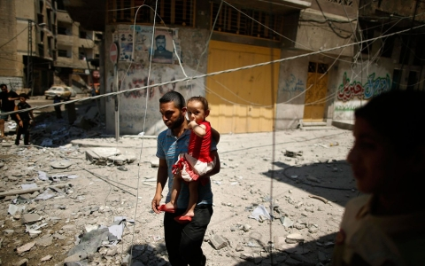 Thumbnail image for Gaza civilian deaths may amount to war crimes: UN human rights chief