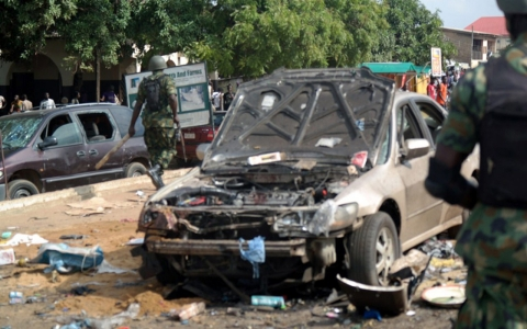 Thumbnail image for Twin blasts kill dozens in Nigeria
