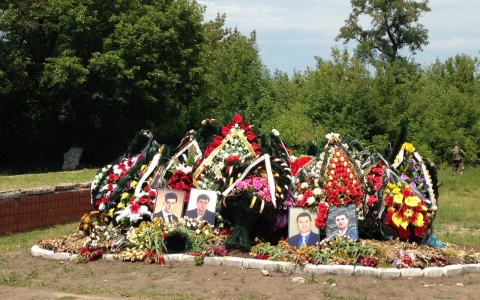 Thumbnail image for Mass grave uncovered in eastern Ukraine