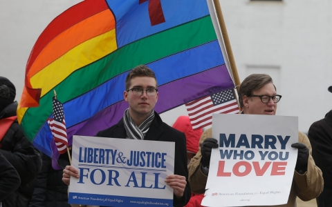 Thumbnail image for US court strikes down Virginia gay-marriage ban