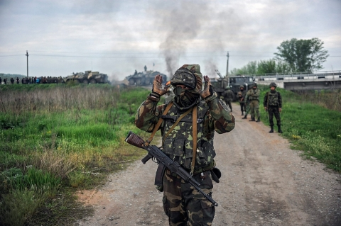 Thumbnail image for Driven by far-right ideology, Azov Battalion mans Ukraine's front line