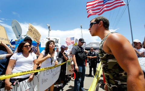 immigration protests murrieta