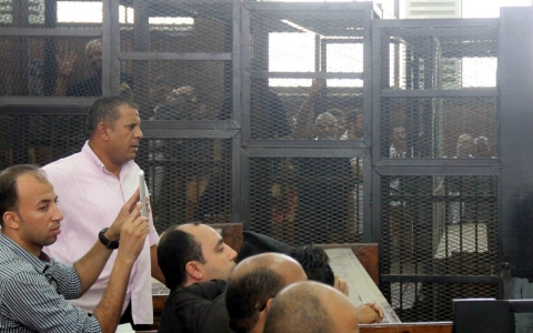 Thumbnail image for Egyptian court sentences Muslim Brotherhood leader to life in prison