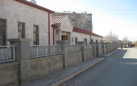 An LDS place of worship, also known as a ward, in Artashat.