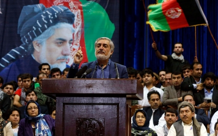Afghan presidential candidate says run-off was 'rigged'
