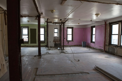 Gut renovation of 1059 Union St. in Crown Heights, Brooklyn.