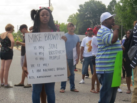 Mike Brown, Ferguson