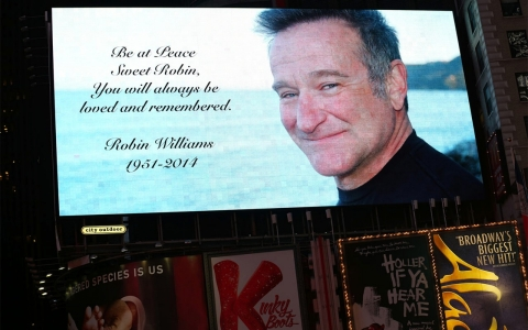 Thumbnail image for Robin Williams had Parkinson's disease, wife says