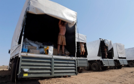Russia allows Ukraine to inspect aid convoy