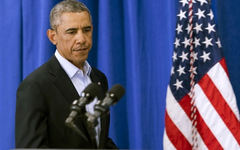 Thumbnail image for Decrying grisly murder, Obama vows to fight on against Islamic State