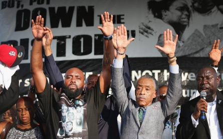 Michael Brown's father seeks 'day of silence'