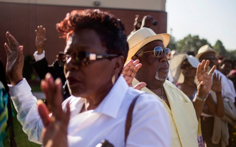 Thumbnail image for After Ferguson, black activists hope for reckoning on race and policing