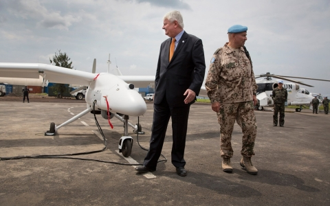 Thumbnail image for Drones, drones, everywhere: UN ramping up peacekeeper surveillance flights