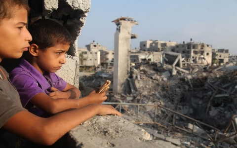 Thumbnail image for Gaza reconstruction could take 20 years, aid groups say