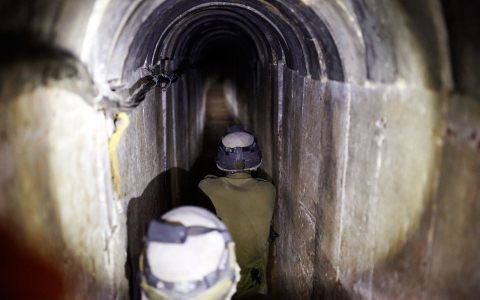 Thumbnail image for Gaza's underground: A vast tunnel network that empowers Hamas