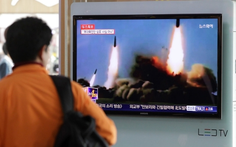 Thumbnail image for N. Korea fires missiles on eve of China–S. Korea talks