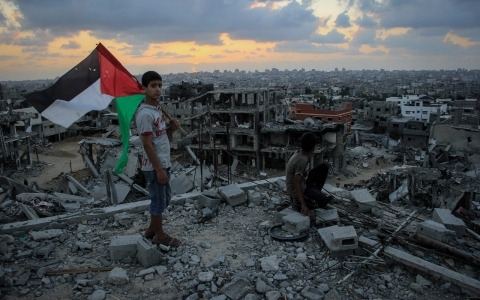 Thumbnail image for Rights group accuses Israel of war crimes over Gaza school raids