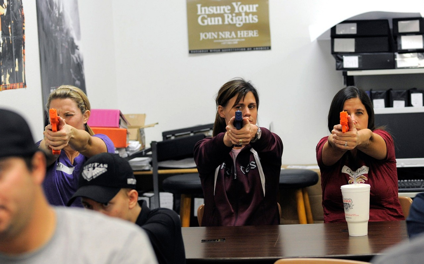 arming teachers in schools A school district in idaho recently purchased firearms and trained members of the staff to use them several other schools - mostly rural and in the west - have responded to the debate about school shootings by arming teachers.