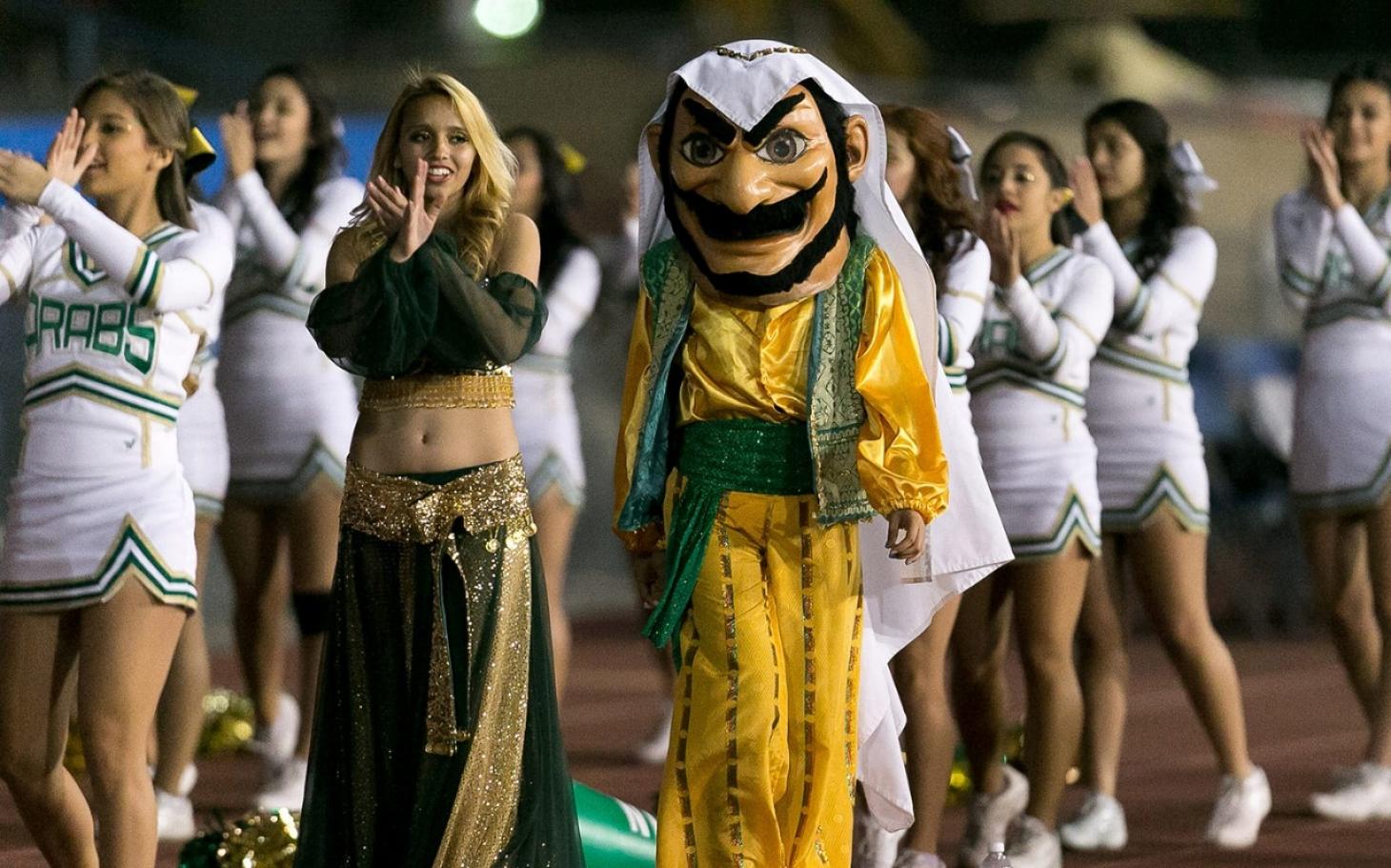california high school drops controversial arab mascot al jazeera