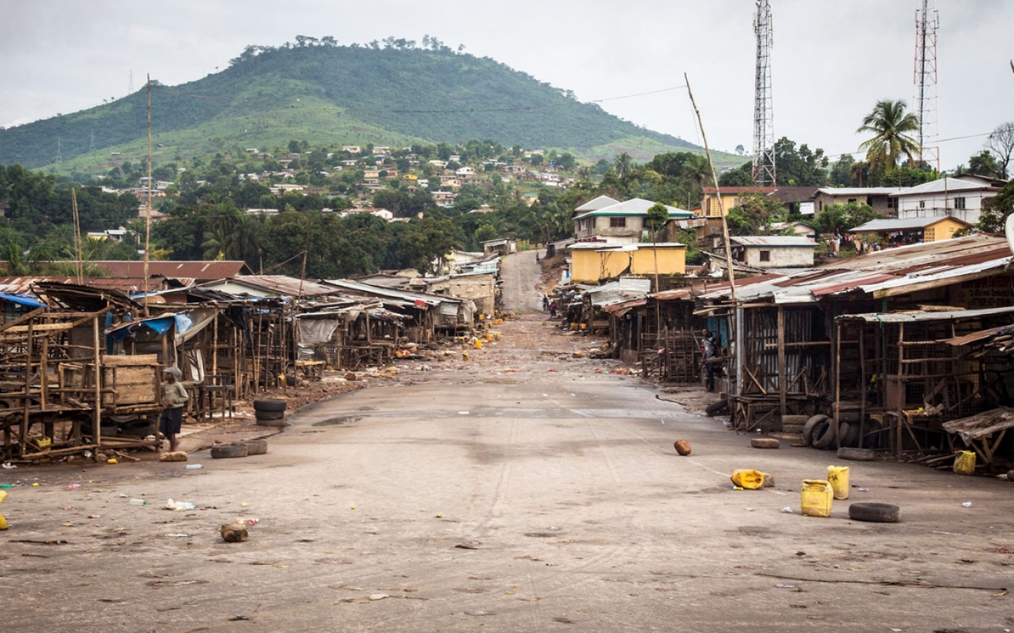 Millions in Sierra Leone on Ebola lockdown | Al Jazeera America