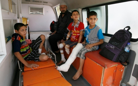 Thumbnail image for Hundreds of Gaza children permanently disabled by this summer's conflict