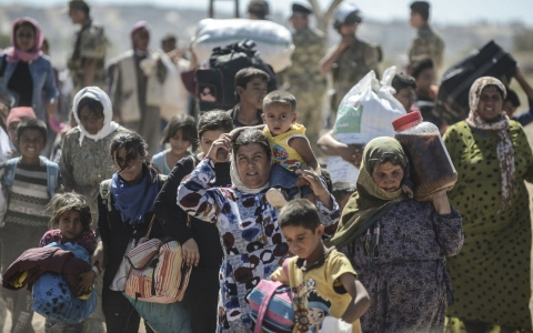 Thumbnail image for ISIL push spurs mass exodus of Syrian Kurds