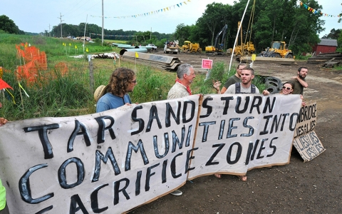 Thumbnail image for Opinion: March for climate justice, then join the front lines