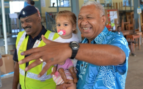 Thumbnail image for Fiji strongman wins election