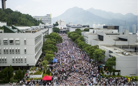 Thumbnail image for HK students launch pro-democracy walkout