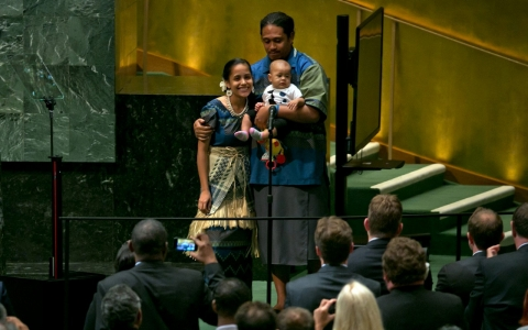 Thumbnail image for Pacific island nations lead by example at UN climate summit