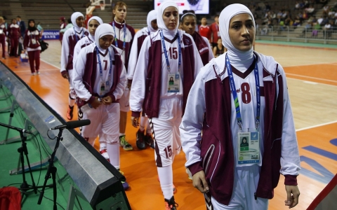 Thumbnail image for Qatari women withdraw from Asian Games over hijab rule