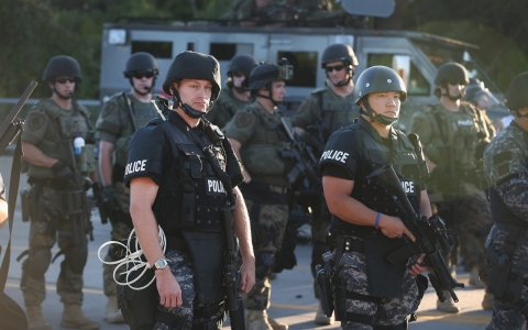Thumbnail image for Opinion: The profitable marriage of military and police tech
