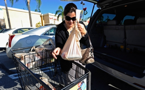 Thumbnail image for California enacts state ban on plastic bags