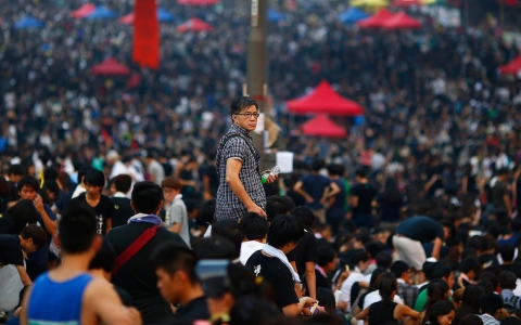 Thumbnail image for To calm protests, China may boost Hong Kong finances or axe top official