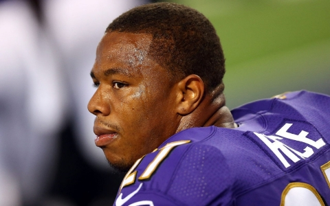Thumbnail image for Baltimore Ravens cut Ray Rice after release of new domestic violence video