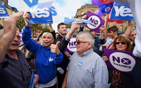 Thumbnail image for Immigrant vote could sway tight Scottish independence referendum