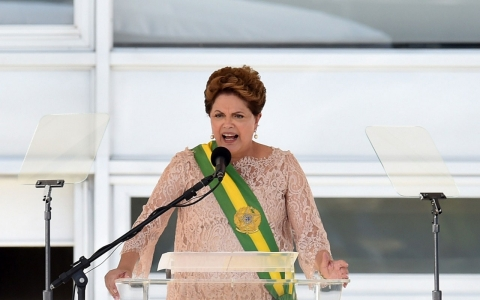 Thumbnail image for Brazil's Rousseff sworn in for second term, pledges austerity