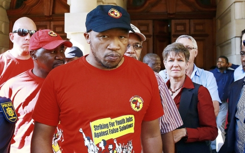 Thumbnail image for South African labor leader pitches a new socialist party
