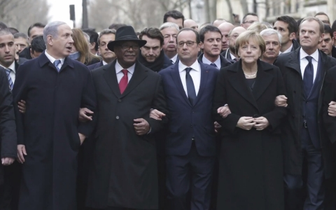 Thumbnail image for Hypocrites of the world unite at Paris march