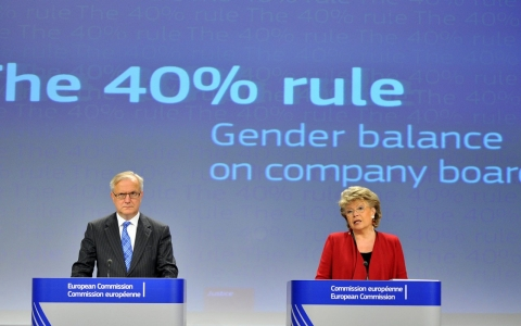 Thumbnail image for Study: More women on corporate boards, but gender gap persists