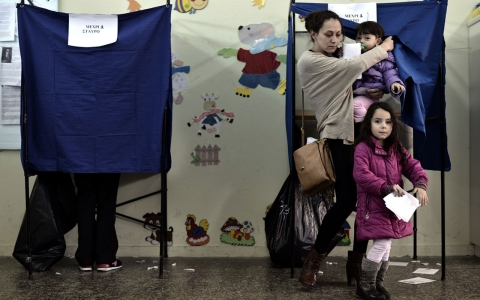 Thumbnail image for Voting under way in Greece's snap elections