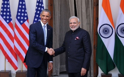 Thumbnail image for Obama and Modi announce nuclear 'breakthrough' during India visit