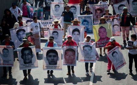 Mexico marks four months since 43 Ayotzinapa students disappeared