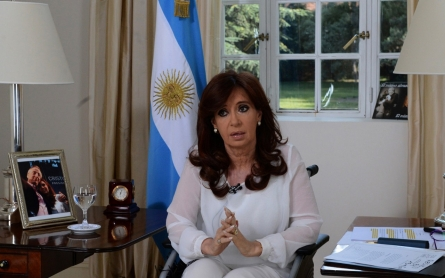 Argentine president seeks overhaul of intelligence services